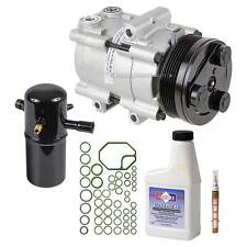 New AC Compressor & Clutch With Complete A/C Repair Kit For Lincoln Town Car