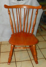 Maple Sewing Rocker / Nursing Rocking Chair by Heywood Wakefield