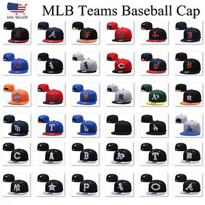 All-Teams-Baseball-MLB-Cap-9FIFTY-FITTED-The-League-Hats-Snapback-Caps-Unisex