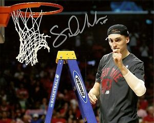Signed WI Badgers SAM DEKKER Autographed 8x10 Photo -  AUTO - #1009