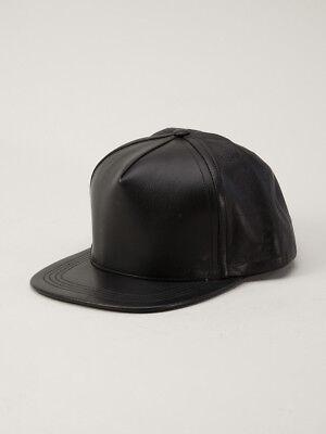 Il Prezzo Più Economico Authentic Unisex Cast Di Vizi Pelle Traforata Cap Hat Nero- Colori Armoniosi