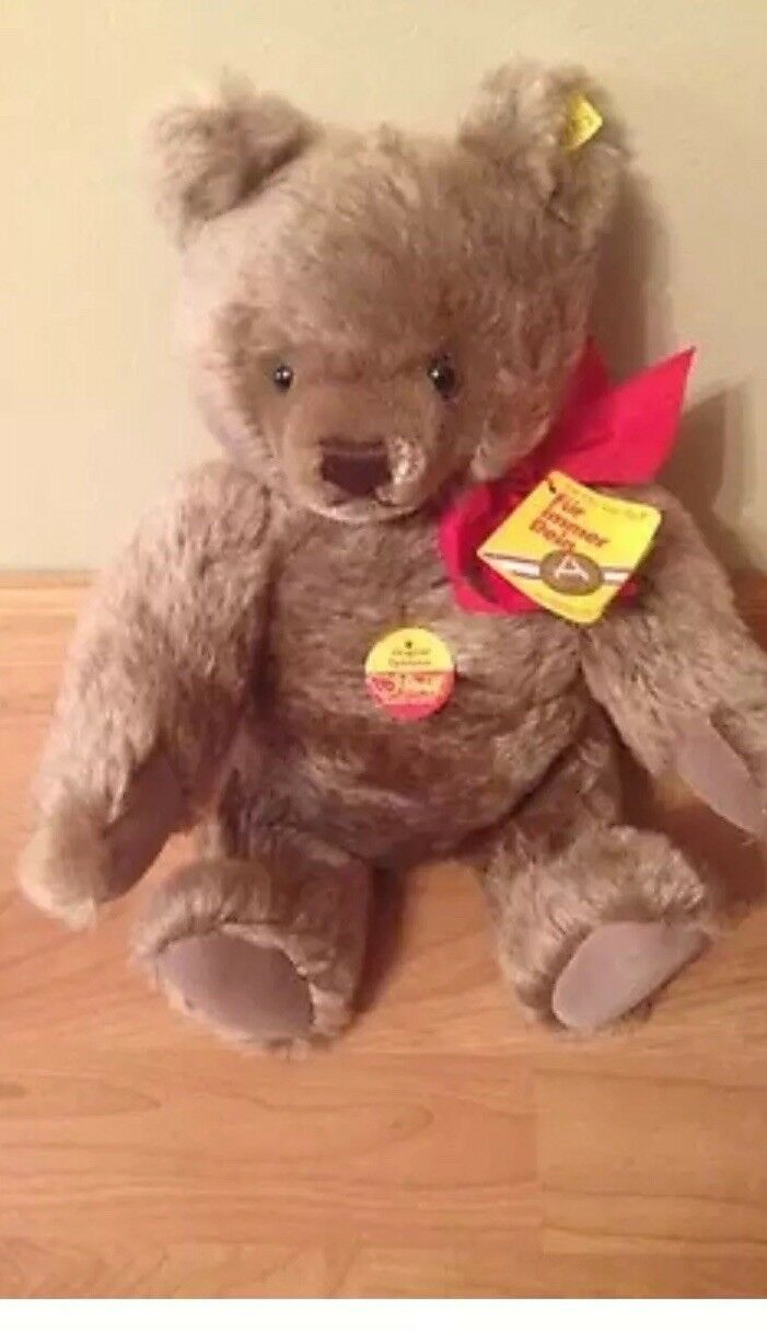 Steiff Collectible Teddy Bear 15 In