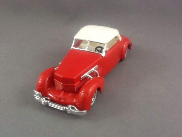 Die cast 1//43 Modellino Auto Cord 812 Convertible Phaeton 1937