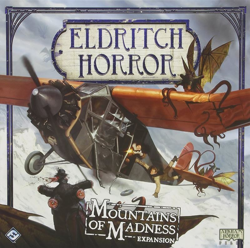 ELDRITCH HORROR  MOUNTAINS OF MADNESS BOARD GAME EXPANSION