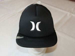 HUF grey black RARE Mens adult snap back hat cap surf skate one size one /& only