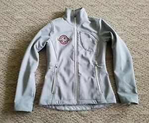 EUC-TNF-THE-NORTH-FACE-WOMEN-039-S-WINDWALL-SOFT-SHELL-JACKET-COLOR-GRAY-SIZE-XS