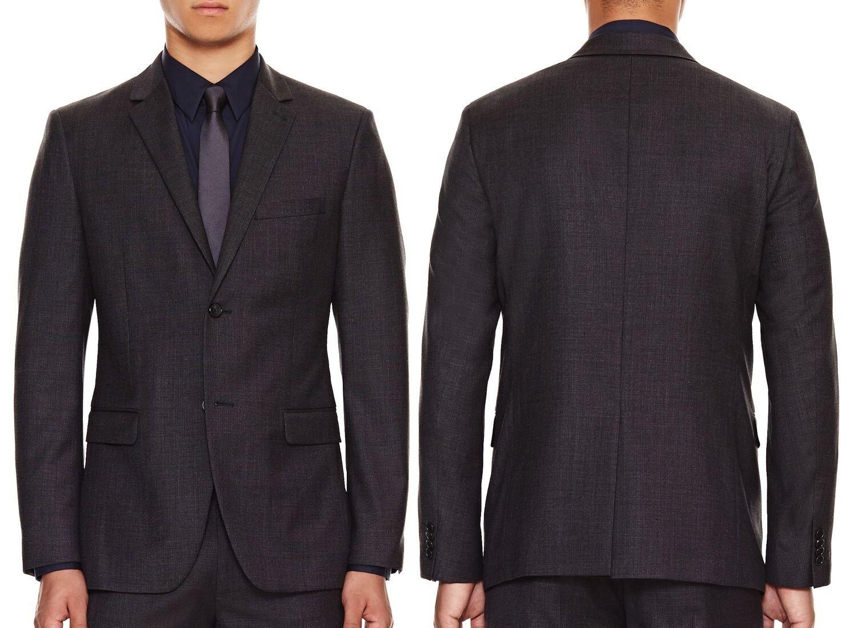 NWT 645 Theory Slim Fit Blazer Virgin Wool Sport Coat Größe 44R(US) or 54(EU)