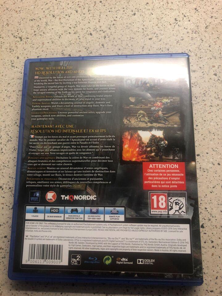 Playstation 4, Darksiders , God
