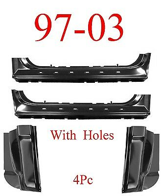 Super Cab Rocker Panel 97-03 Ford F150 F250LD 04 F150 Heritage-PAIR