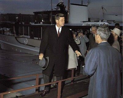 Kennedy with British PM Harold Macmillan New 8x10 Photo President John F