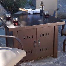 Outdoor Fire Pit Table Patio Deck Backyard Heater Fireplace Propane LP Furniture