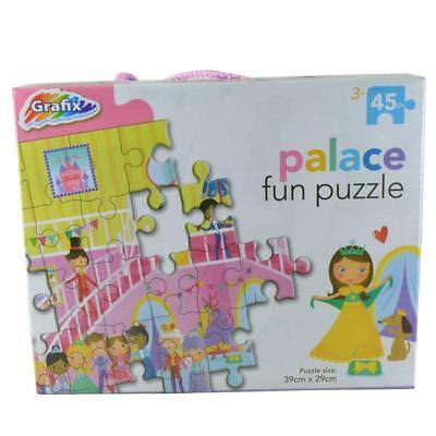 Bello Grafix Puzzle 45 Pezzi Palace-nuovo Di Zecca Nella Scatola Originale-mostra Il Titolo Originale