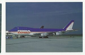 Federal Express Boeing 747249F Aviation Postcard A668 - <span itemprop=availableAtOrFrom>Malvern, United Kingdom</span> - IF THE GOODS ARE NOT AS DESCRIBED PLEASE RETURN WITHIN 14 DAYS OF RECEIPT FOR FULL REFUND. Most purchases from business sellers are protected by the Consumer Contract Regulations 2013 whi - Malvern, United Kingdom