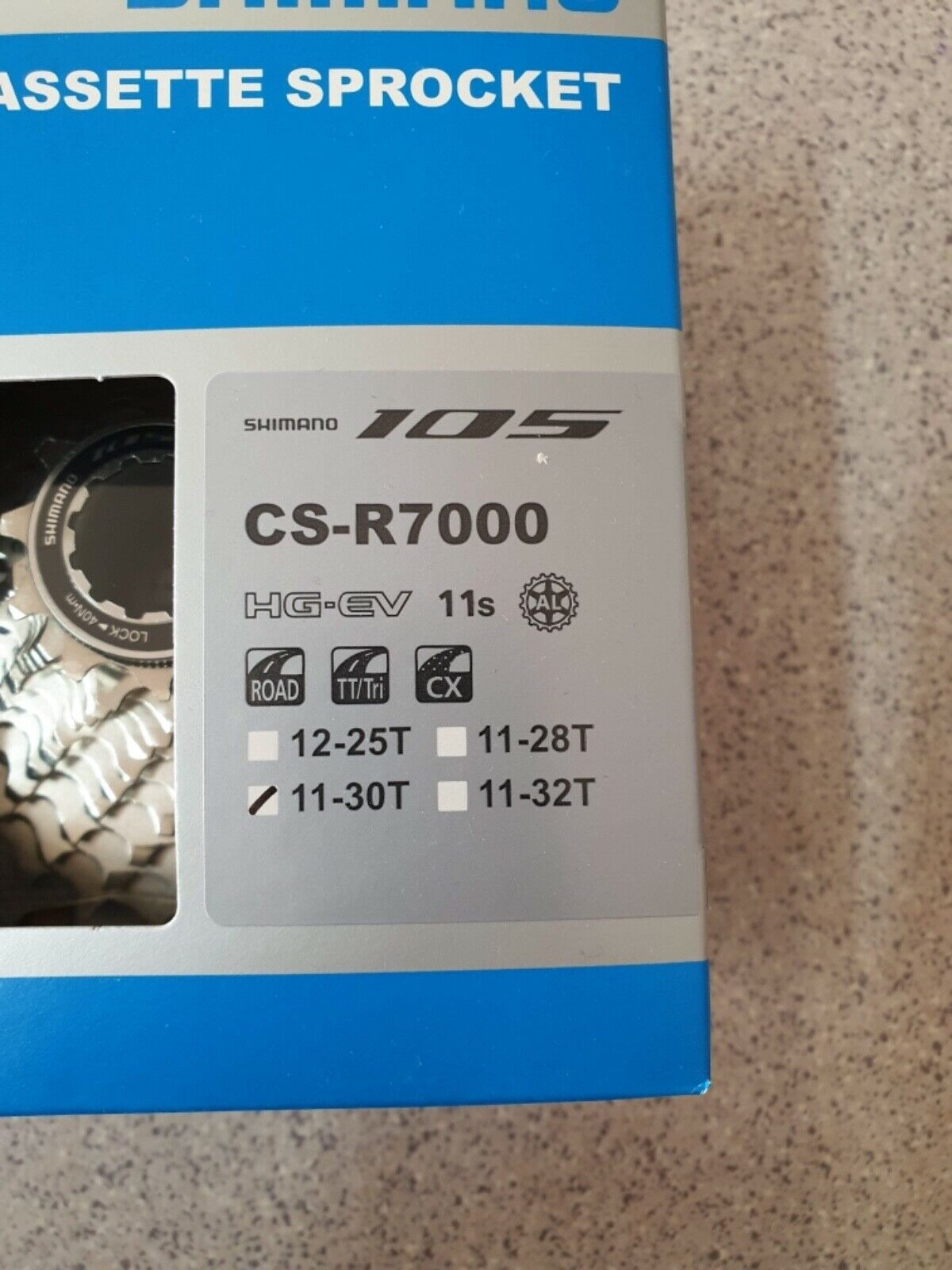 Cassetta pignoni CSR 7000 SHIuomoO 105 1130 11 velocità