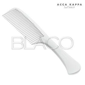 ACCA-KAPPA-PETTINE-BIANCO-CON-MANICO-22-5cm-PETTINE-MANICO-DENTE-MEDIO-7230B