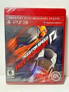 Need For Speed Hot Pursuit Greatest Hits PS3 New Sealed Game Electronic Arts