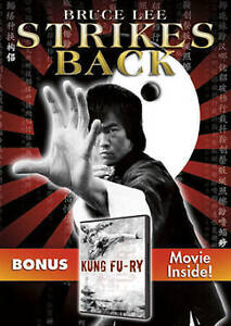 Bruce-Lee-Strikes-Back-with-Bonus-Film-Kung-Fu-ry-by-in-Used-Very-Good