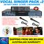 VOCAL-SINGER-MP4000-KARAOKE-MACHINE-289-PARTY-SONG-PACK-2-MICS-BLUETOOTH thumbnail 1