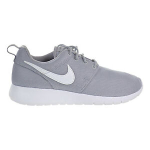 c4c85d484ac1 Nike Roshe One GS Big Kids Running Shoes Wolf Grey White 599728-033 ...