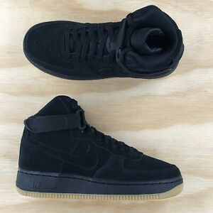 Nike-Air-Force-1-High-LV8-Black-Gum-GS-Youth-Casual-Shoe-807617-002-Multi-Size
