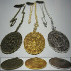 Colgante PIRATAS DEL CARIBE MONEDA AZTECA - Necklace PIRATES OF THE CARIBBEAN