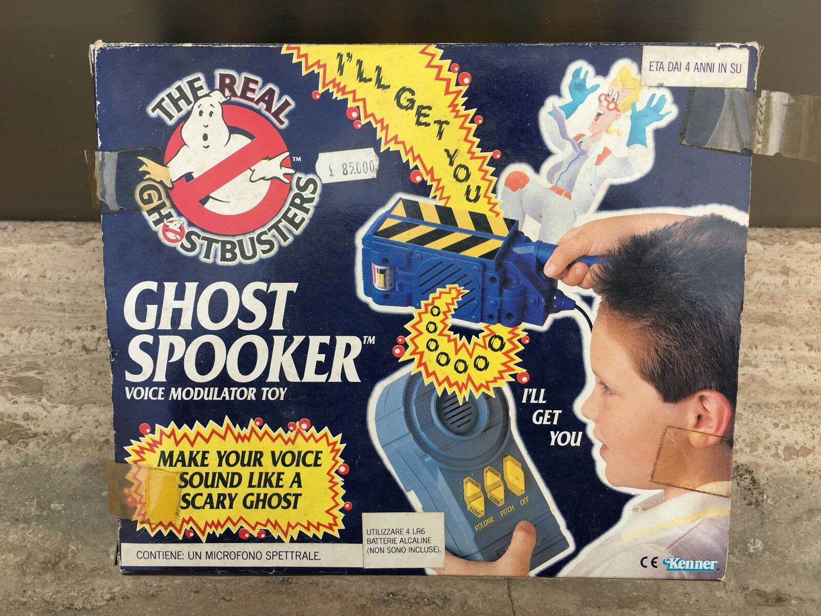 THE REAL  GHOSTBUSTERS ghost spooker new nuovo anni 80