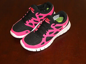 new style ecff7 821e0 Details about Nike womens 443816 019 Free Run +2 size 6 new shoes black  cherry