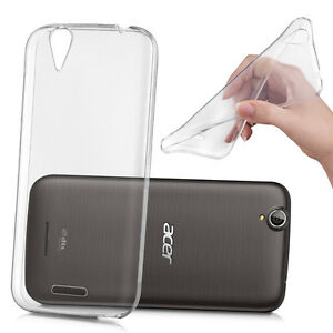the best attitude 1fe6c a4eb5 Details about Case Cover TPU Silicone Soft Gel Ultra Thin for Acer Liquid  Z630/Z630S