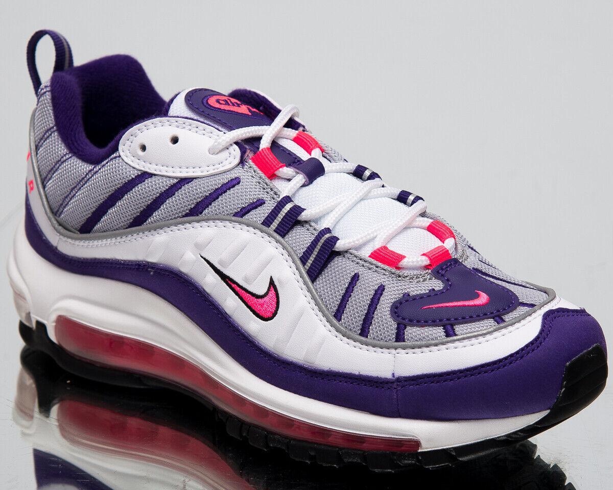 Nike Women's Women's Women's Air Max 98 Raptors New Lifestyle shoes White Racer Pink AH6799-110 d430d0