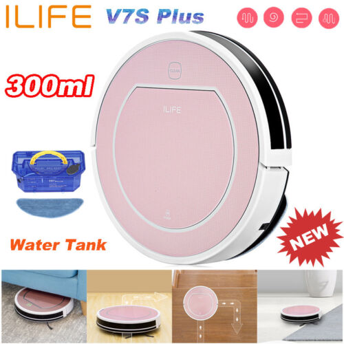 ILIFE V7s Plus Smart Robot Vacuum Cleaner Floor Dry Wet Cleaning Remote Control