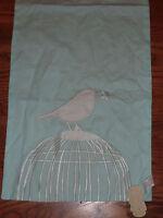 Grasslands Road Spring Boutique Birdcage Blue Table Runner Nip