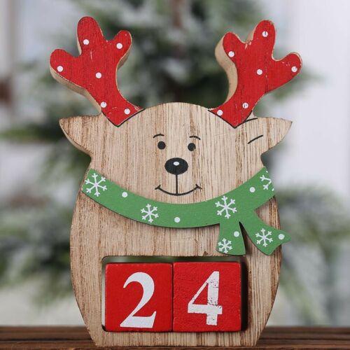 Christmas Tree Calendar Fabric Advent Countdown Santa Claus Calendar Home Decor
