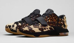 premium selection eb286 73202 Image is loading Nike-KD-VII-7-EXT-QS-SAFARI-Pony-