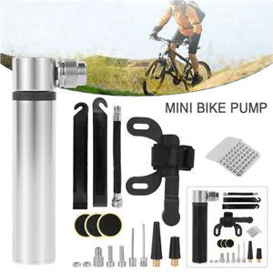 Mini Bike Pump Portable Bicycle Inflator Hand Pump Valve Mountain Bike Tyre Pump