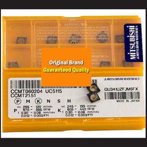 10PCS MITSUBISHI CCMT060204 US735 CCMT21.51 NEW Carbide Inserts