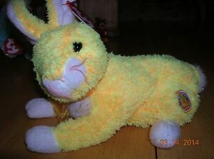 MINT with MINT TAG TY BUTTERCREAM the BUNNY BEANIE BABY BBOM