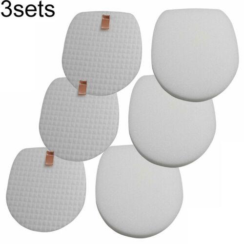 Foam /& Felt Filter Kit For Shark IX140 IX141 IZ140 IZ142 IZ162H Vacuum Cleaner