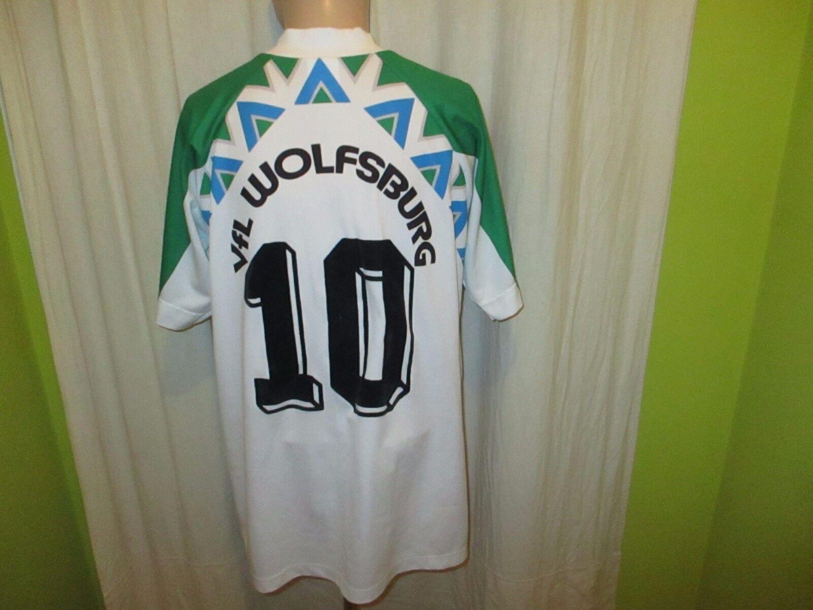 VfL Wolfsburg Original reusch Heim Trikot 1994/95