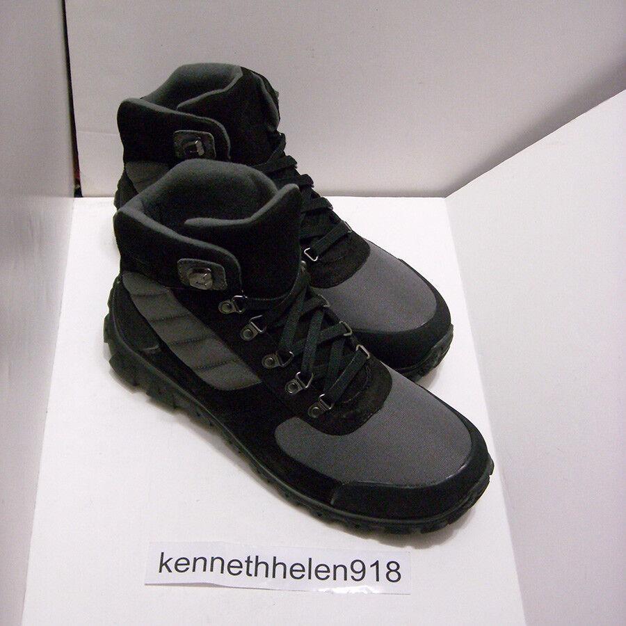 Polo Ralph Lauren Zapatos botas De Gamuza Para Excursionista herrik Negro gris Oscuro para Hombre D