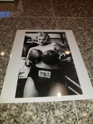 VINTAGE 8 X 10 PHOTOGRAPH FROM IRVING KLAWS ARCHIVES OF DREW BARRYMOORE LOT #1
