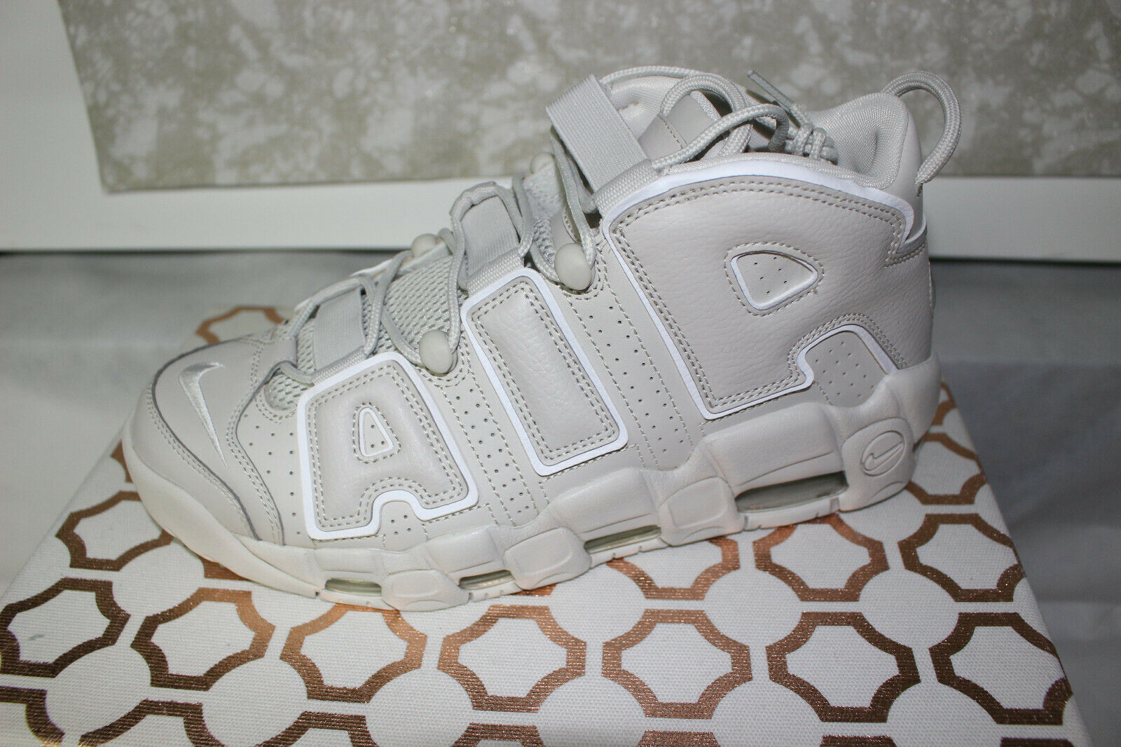Nike Air More Uptempo '96 921948-001 Light Bone Brand New Size 10