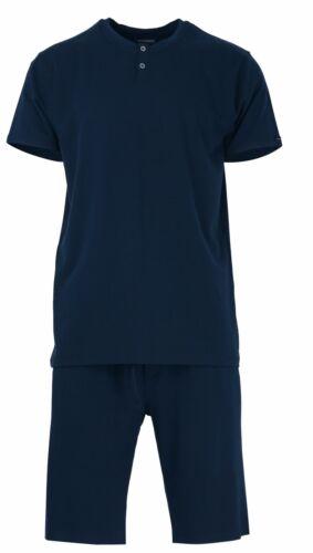 Baldessarini Herren Tencel Schlafanzug Pyjama blau 95014 630