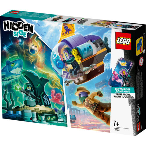 Lego 70433 Hidden Side J.B./'s Submarine Building Set