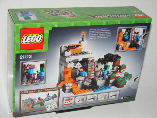 LEGO®  Minecraft™® 21113 Die Höhle Neu OVP/_The Cave New MISB NRFB