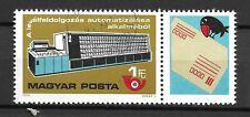 Ungarn 3309 Zf  gestempelt  Automatisierung der Briefverteilung