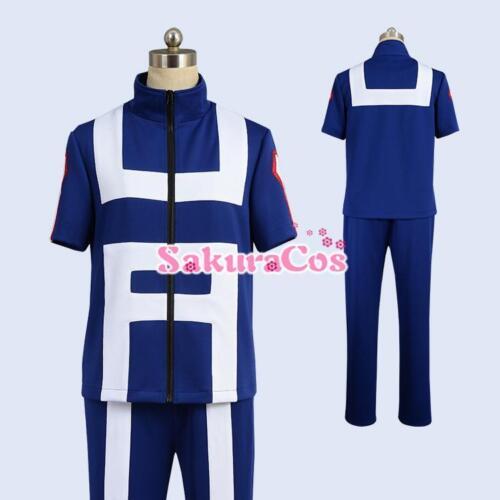 My Hero Academia Boku no Hero Midoriya Izuku School Gym Uniform Cosplay Costume
