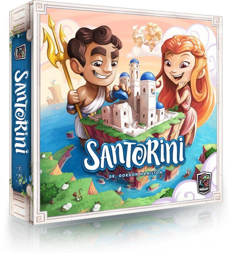 mejor oferta Santorini-Juego De Mesa-spin Master-Sellado Master-Sellado Master-Sellado De Fábrica  todos los bienes son especiales