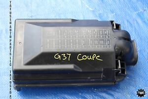 2011 11 infiniti g37 coupe rwd oem engine bay junction 2009 infiniti g37 fuse box diagram 2009 infiniti g37 fuse diagram