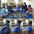 Large Portable Kids Toy Organizer Storage Bag Play Mat For Lego Rug Box XL 150cm