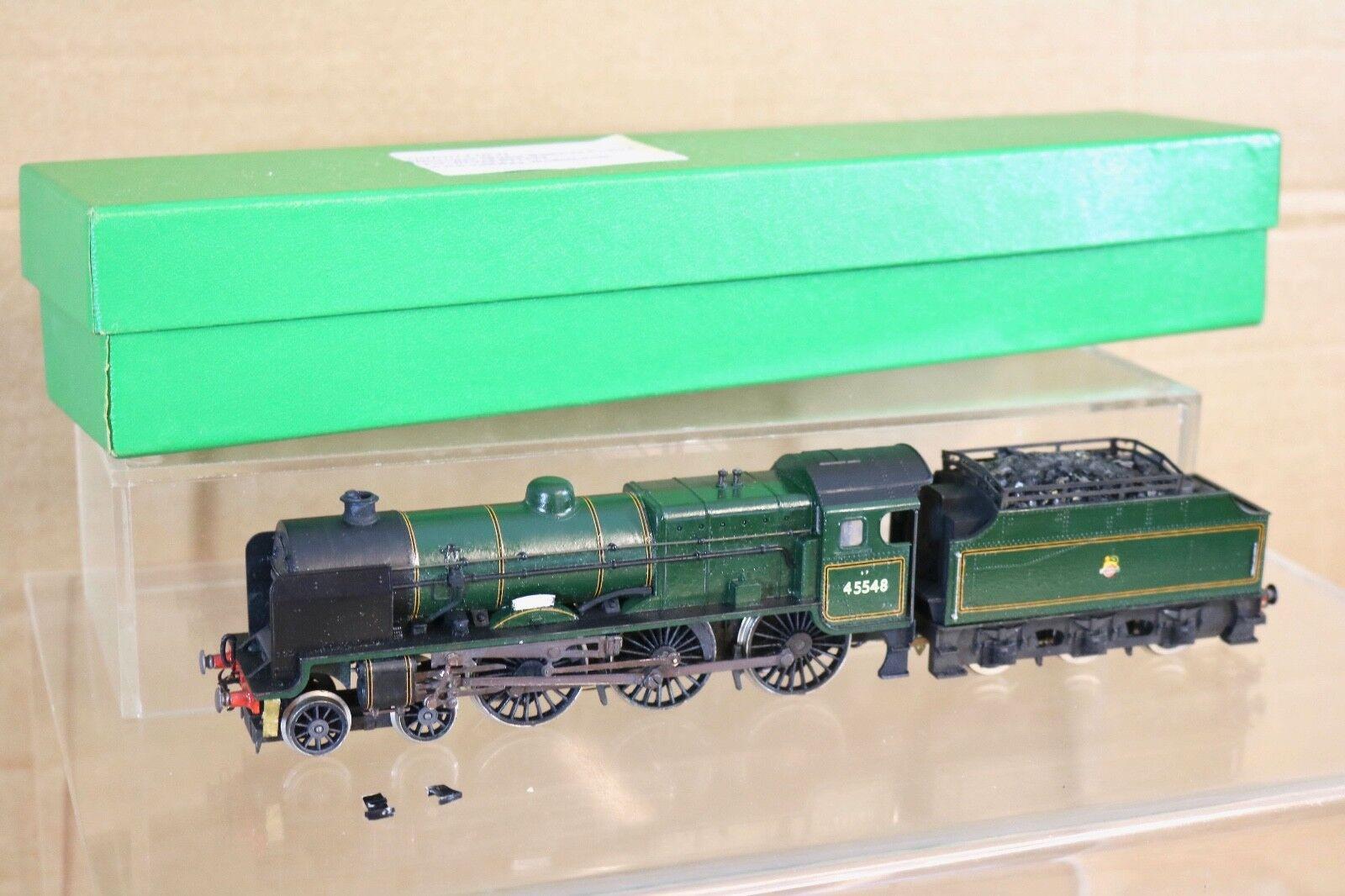 Triang   hornby r.259 4-6-2  britannia  klasse 7p6f loco, br grne stall ausgezeichnet